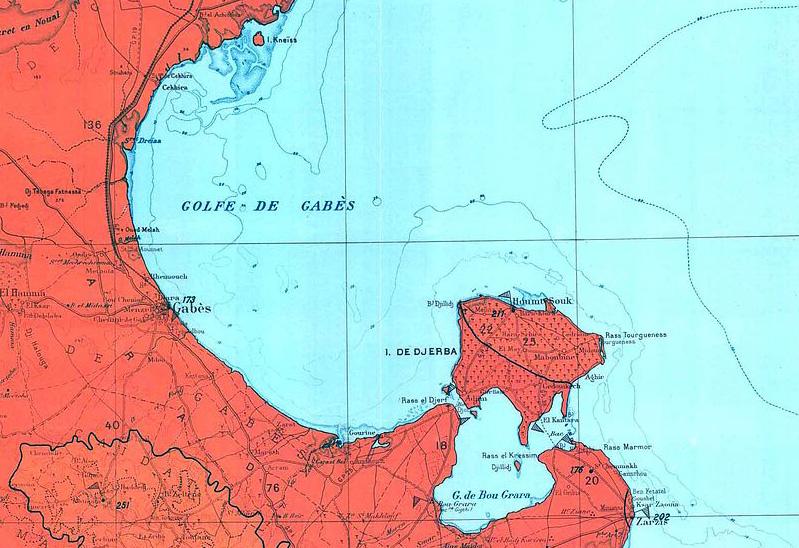 ガベス湾 アトランティス