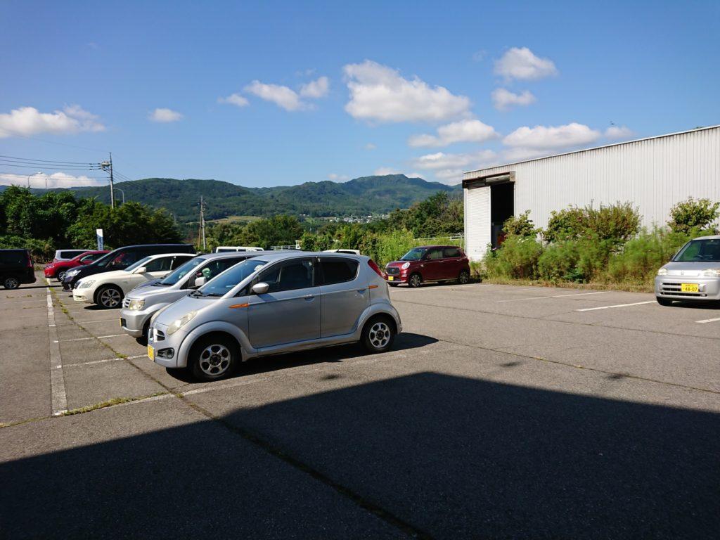 沼田健康ランド 駐車場