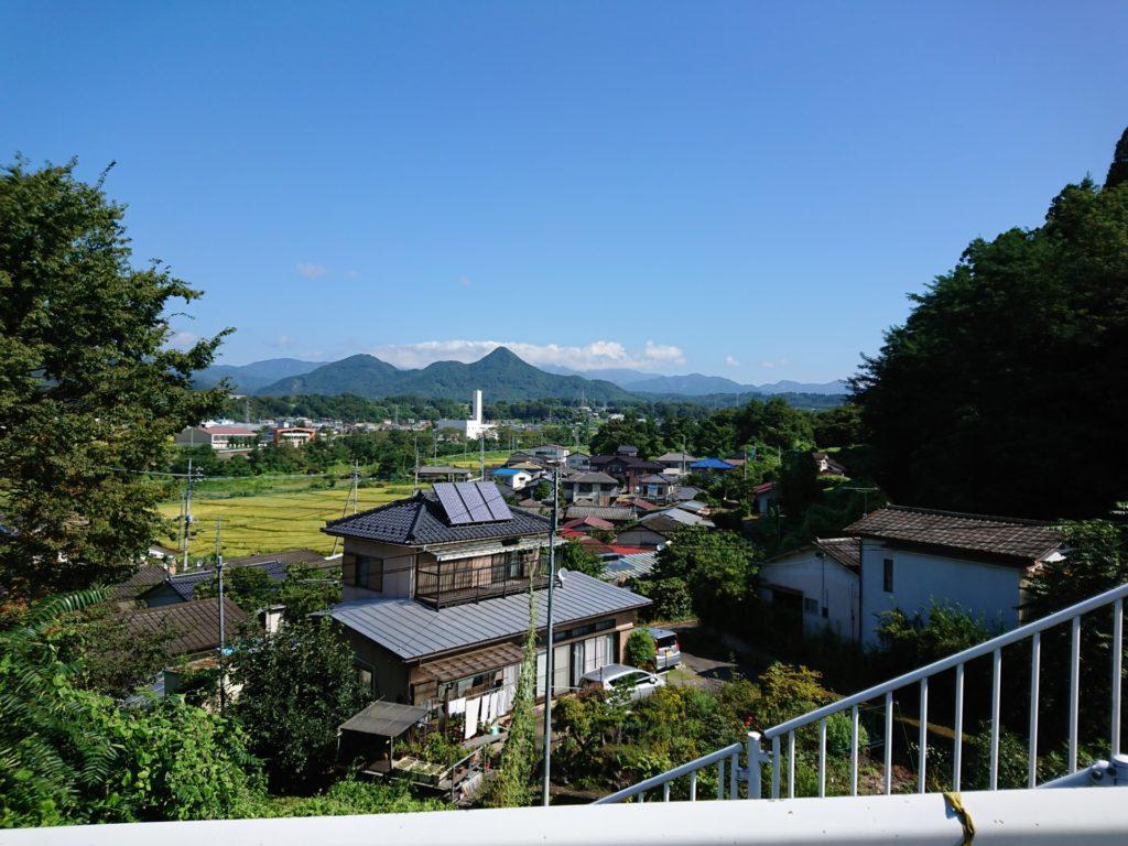 沼田健康ランド 周辺 景色